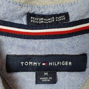 Tommy Hilfiger Shirts - Tommy Hilfiger Gray Performance Pique Polo. Sz Med